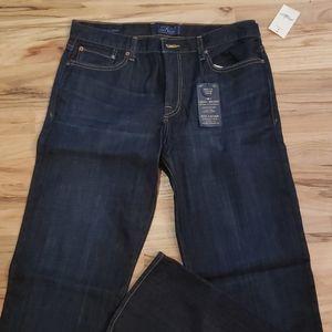 NEW! Lucky 363 Vintage Straight Dark Jeans 34x36